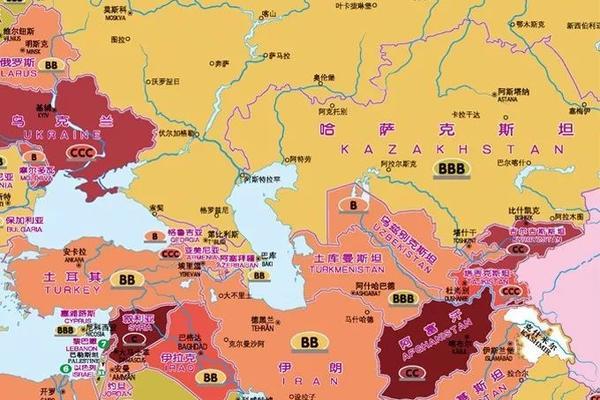 risk map kazakhstan