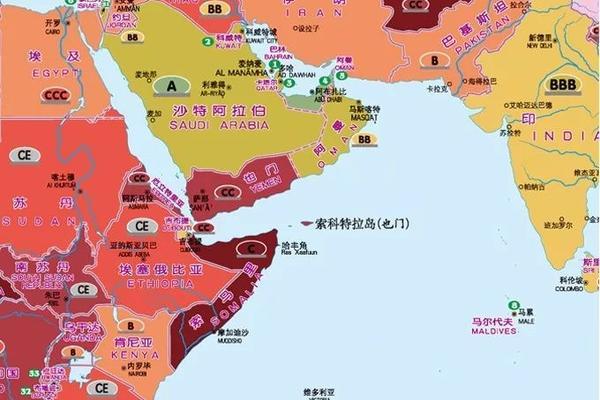 risk map saudi arabia