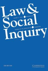 law social inquiry